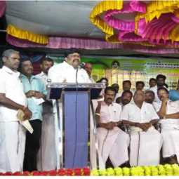 minister rajendra balaji speech in anna birthday function