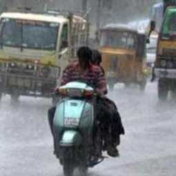 Heavy rains in Tambaram