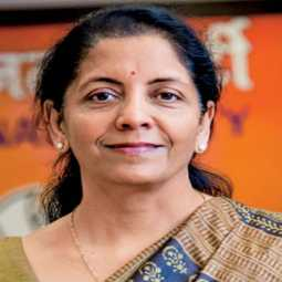 Finance Minister Nirmala Sitharaman press meet