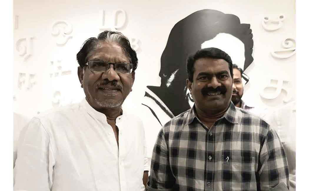 barathiraja with seeman