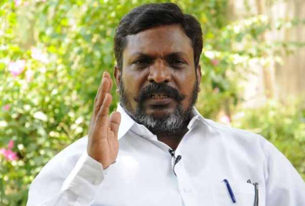 Sterlite plant closure! The Government of Tamil Nadu raises suspicion! - Thirumavalavan