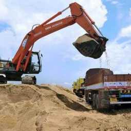 Ariyalur Sand theft issue