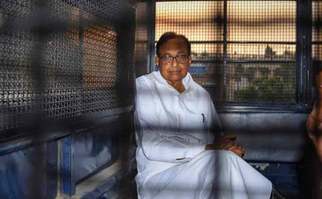 chidambaram arrested by enforcement directorate