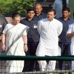 withdraw the Z-Plus security to Sonia, Rahul ?
