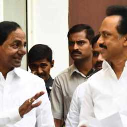 kavitha chandrasekar rao statement about meeting stalin