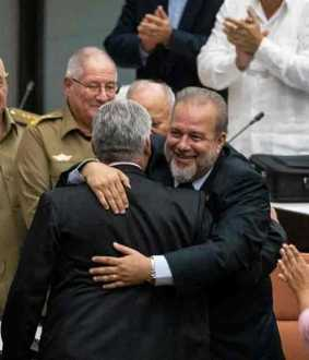 Manuel Marrero Cruz selected as cuban prime minister