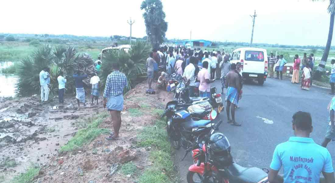 Private bus accident near Karaikal