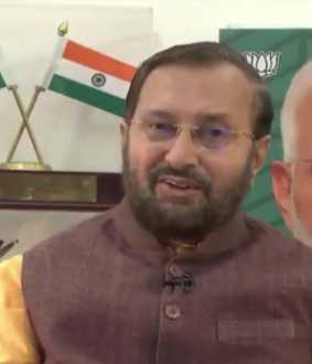 NATIONAL PRESS DAY UNION MINISTER PRAKASH JAVADEKAR SPEECH