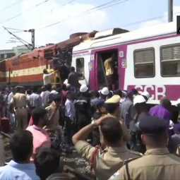 telangana rail incident cctv footage released peoples shock
