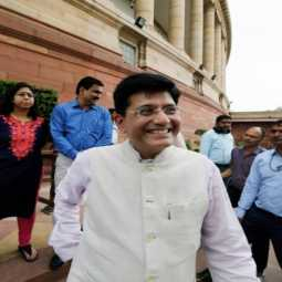 parliament session railway minister piyush goyal said rail compartment camera insert