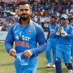 indian fans are not happy with kohli's sledging of cottrell's salute celebration