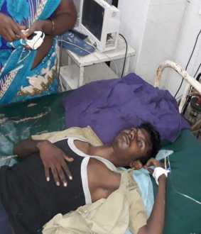 CUDDALORE SHARE AUTO INCIDENT STUDENTS ADMIT AT HOSPITAL