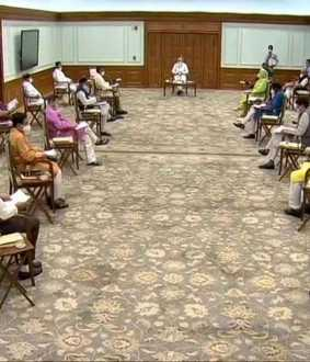 delhi prime minister house cabinet meeting