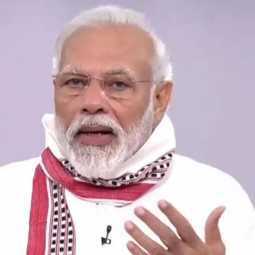 pm narendra modi will be national addressing for today