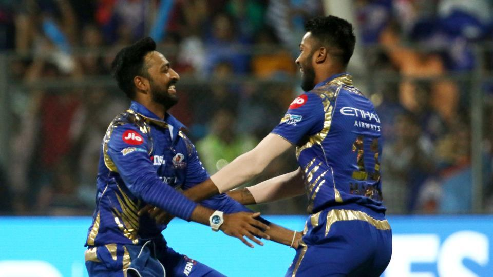 pandya brothers celebrating