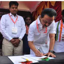 CAA Signature Movement DMK party mk stalin CHENNAI