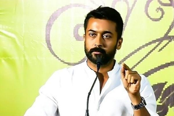 IT raids at Tamil actor Surya's house