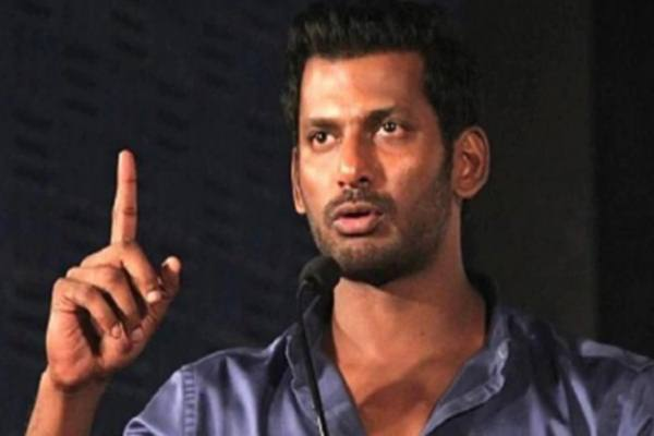 director gandhi krishna angry speech about actor vishal