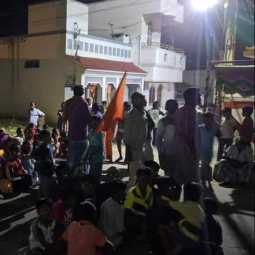 Hindu group who protest midnight - police alert