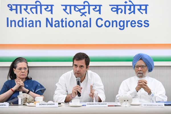 Congress Working Committee meets at AICC Delhi