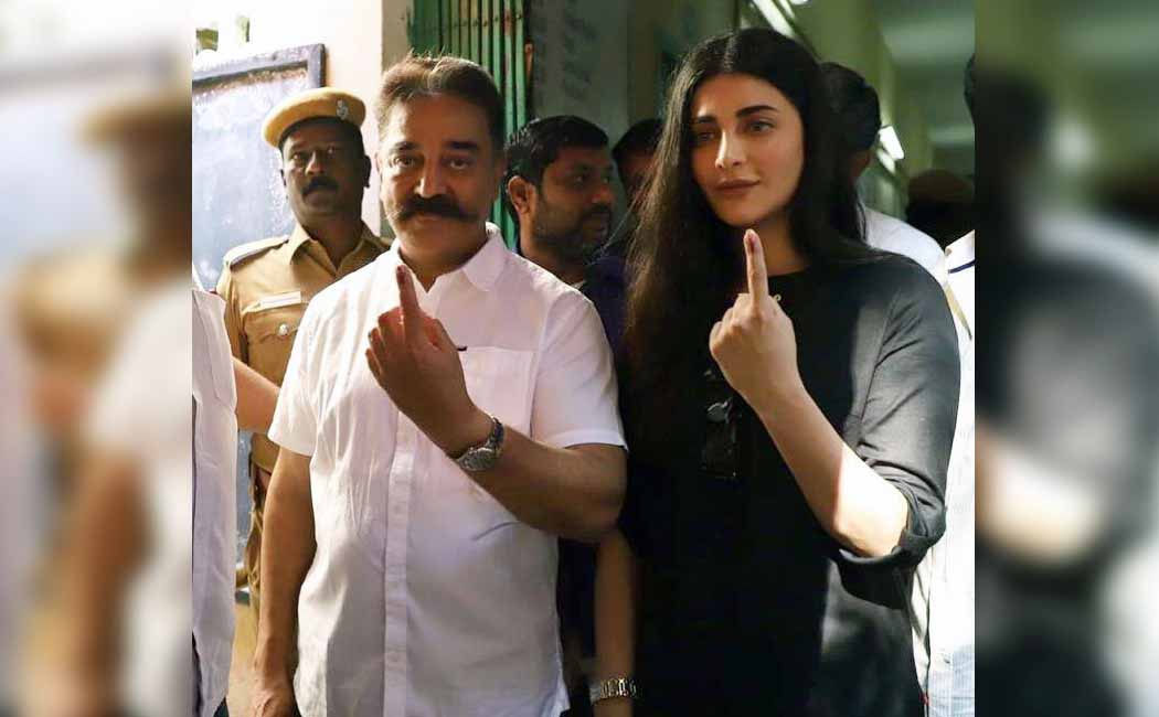 rajini, kamal cast to vote