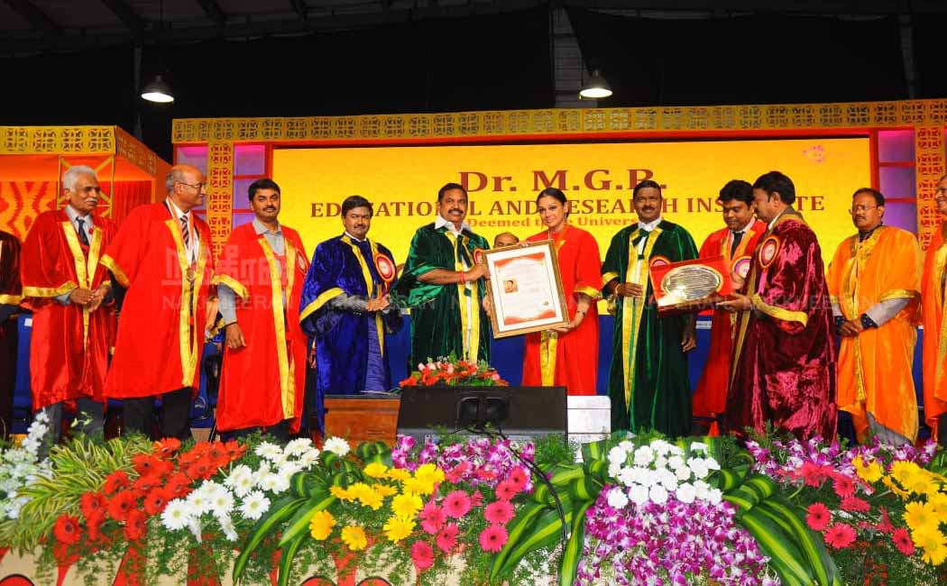 Honorary Doctorate for Chief Minister Edappadi Palanisamy