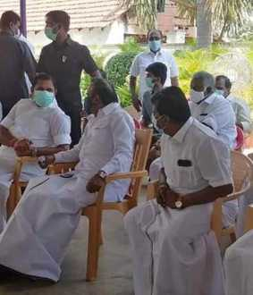 DMK District Secretary who met and consoled; Relationship beyond politics!