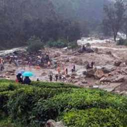 kerala lanslide... recovery on the 5th day
