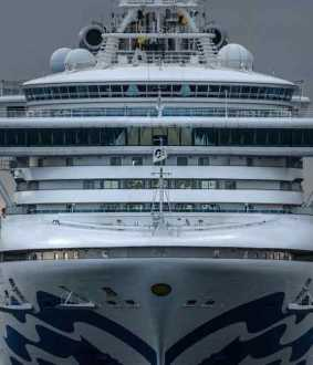more passengers affected by corona virus in diamond princess