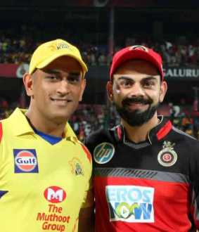 kholi about dhoni batting in last over against rcb in ipl 2019