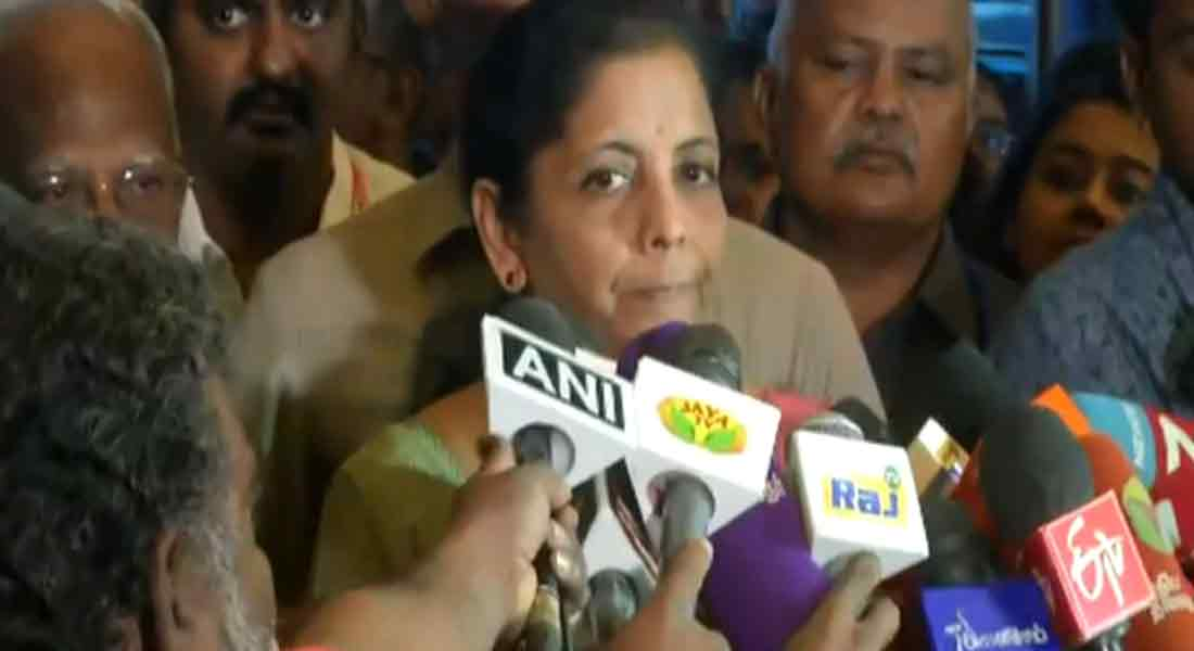 No Hindi stuffing ... Nirmala Sitharaman Interview!