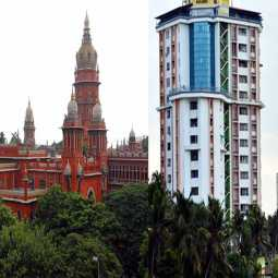 kerala sea area building chennai high court  Anticipatory bail cancel