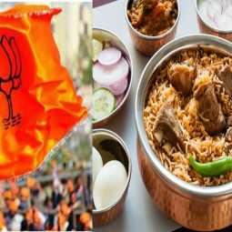BJP rally - Biryani shop owners Report