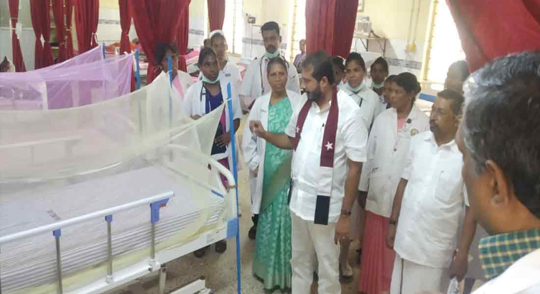 Dengue treatment at Nagai Government Hospital