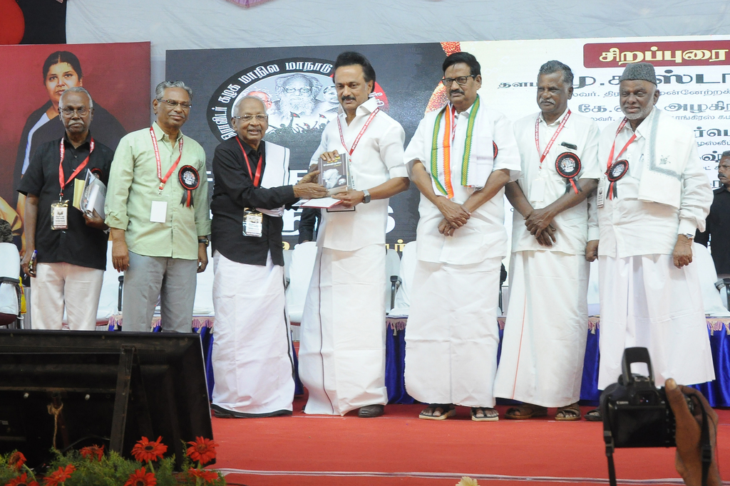 "Rahul's ""Prime Minister"" - Stalin at the DK conference"