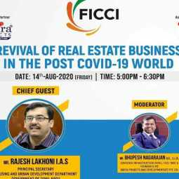 ficci webinar about future of real estate after covid 19