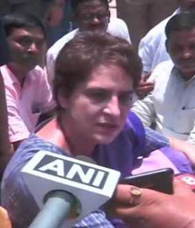 Priyanka Gandhi Vadra in Narayanpur on if she has been arrested