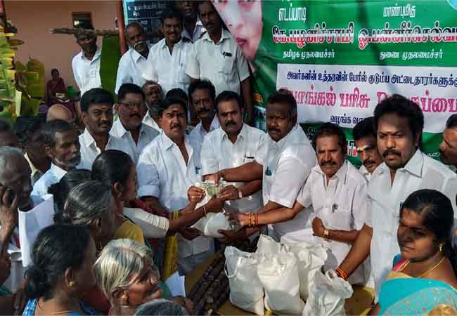theni local body election pongal gift tn govt
