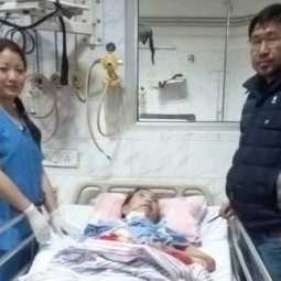 Aneile Kenye disharged from nagaland hospital