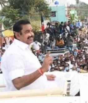 '' DMK is going to keep saying till the end '' - Chief Minister Edappadi speech!