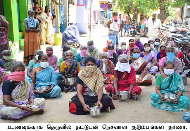 nellai weavers lockdown coronavirus government