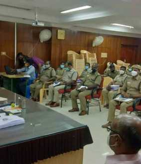 Crime Consultation Meeting at the Superintendent of Police Office
