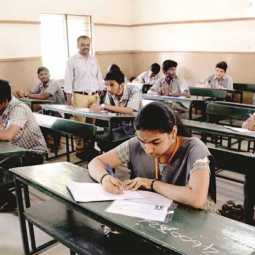 tamilnadu schools 11th,12th std students attend the board exam 500 total score