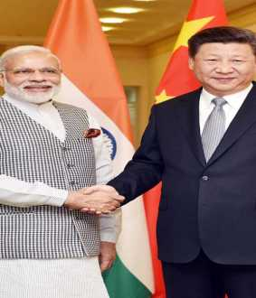 india pm narendra modi and china president jinping meet at location in tamilnadu
