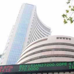MUMBAI SENSEX, NIFTY INVESTORS HAPPY