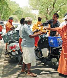 Nakkheeran news repercussion - Food available to roadside people