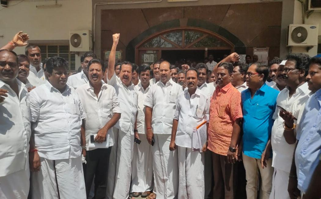 dmk Ponmudy Walkout from Feedback meeting