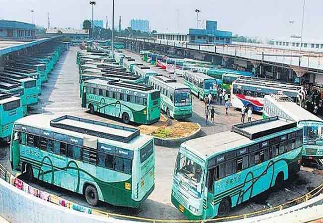 KRISHNAGIRI GOVT BUS DRIVERS CELL USING TO DRIVING SUSPENDED
