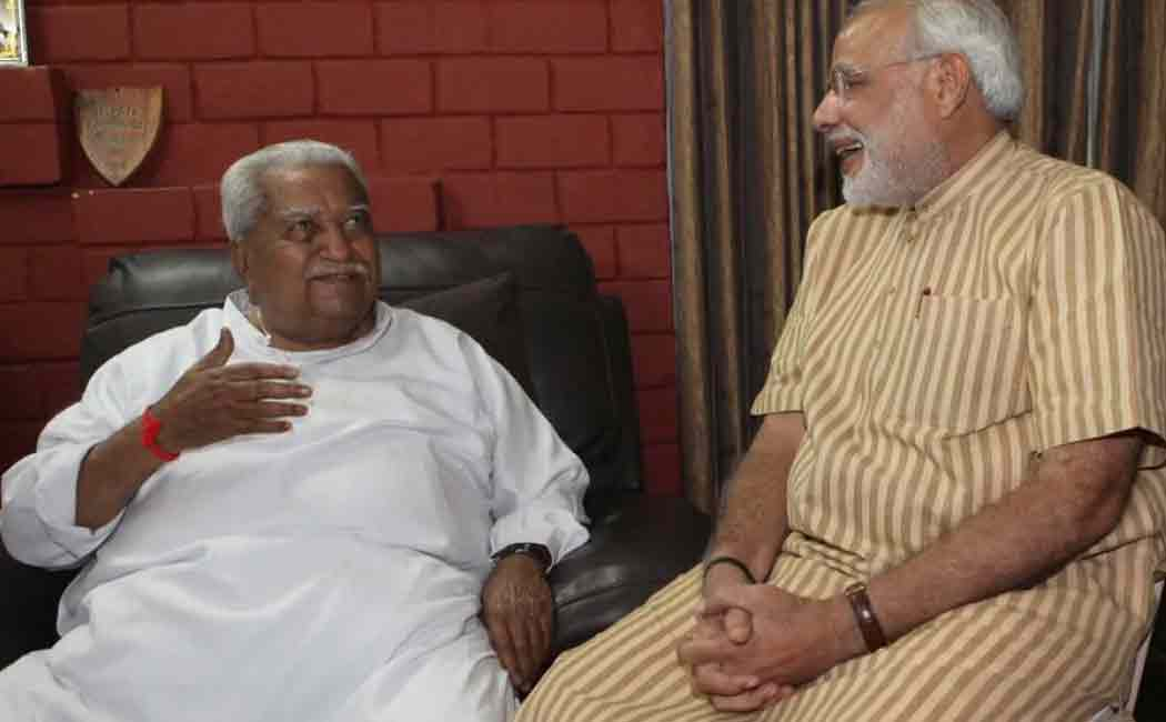 modi tribute to keshubhai patel