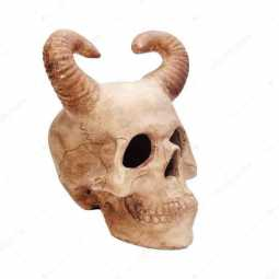excessive usage of cellphones may lead you to the skull with horn